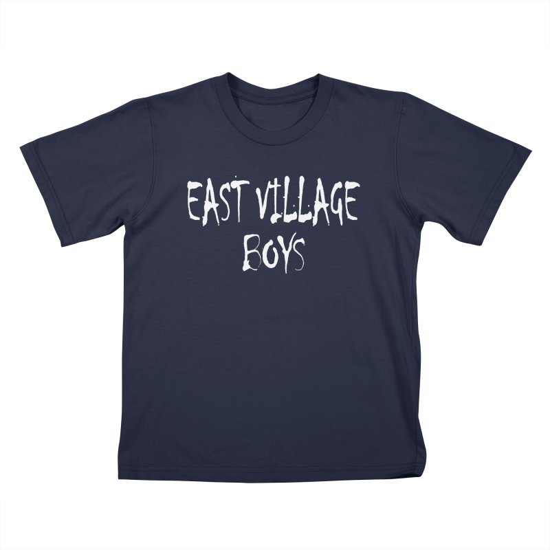 East Village Boys Kids T-Shirt by THE THREADS NYC's Artist Shop