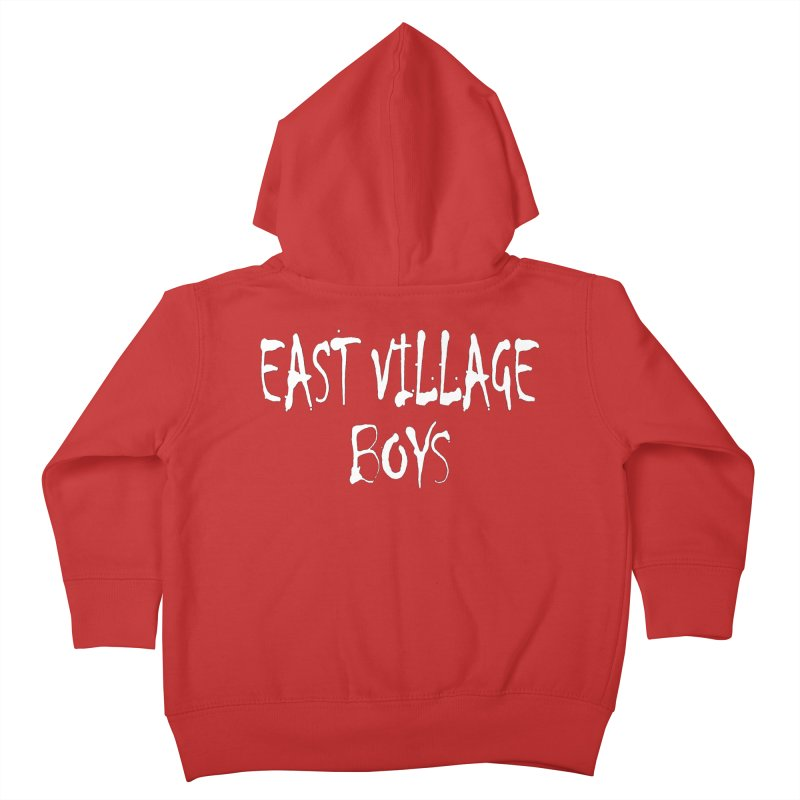 East Village Boys Kids Toddler Zip-Up Hoody by THE THREADS NYC's Artist Shop