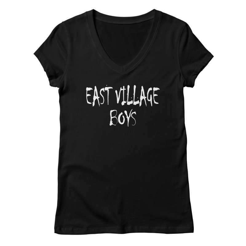 East Village Boys Women's V-Neck by THE THREADS NYC's Artist Shop