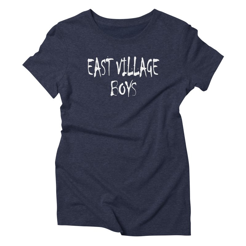 East Village Boys Women's T-Shirt by THE THREADS NYC's Artist Shop