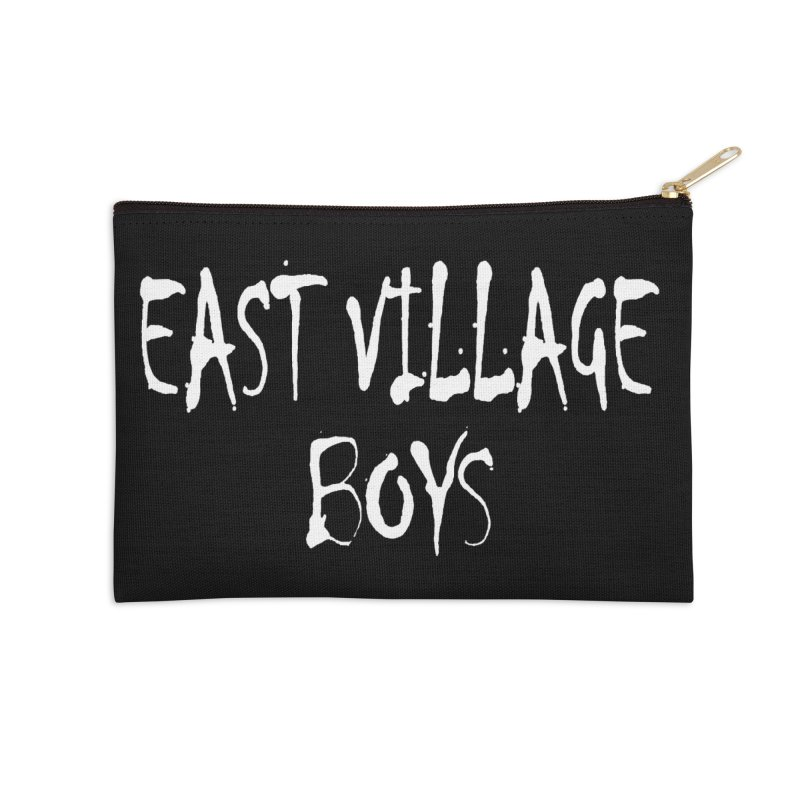 East Village Boys Accessories Zip Pouch by THE THREADS NYC's Artist Shop