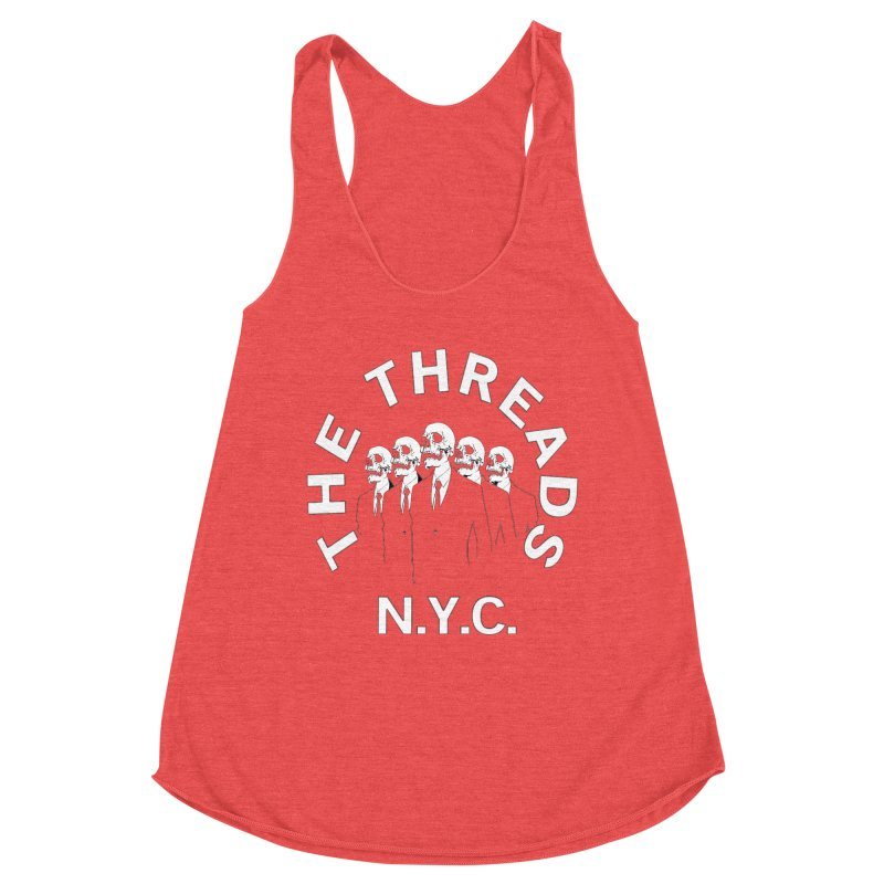 Skeleton Suits Women's Tank by THE THREADS NYC's Artist Shop