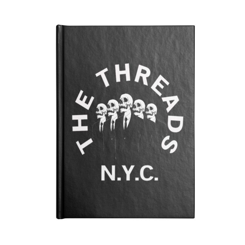 Skeleton Suits Accessories Notebook by THE THREADS NYC's Artist Shop