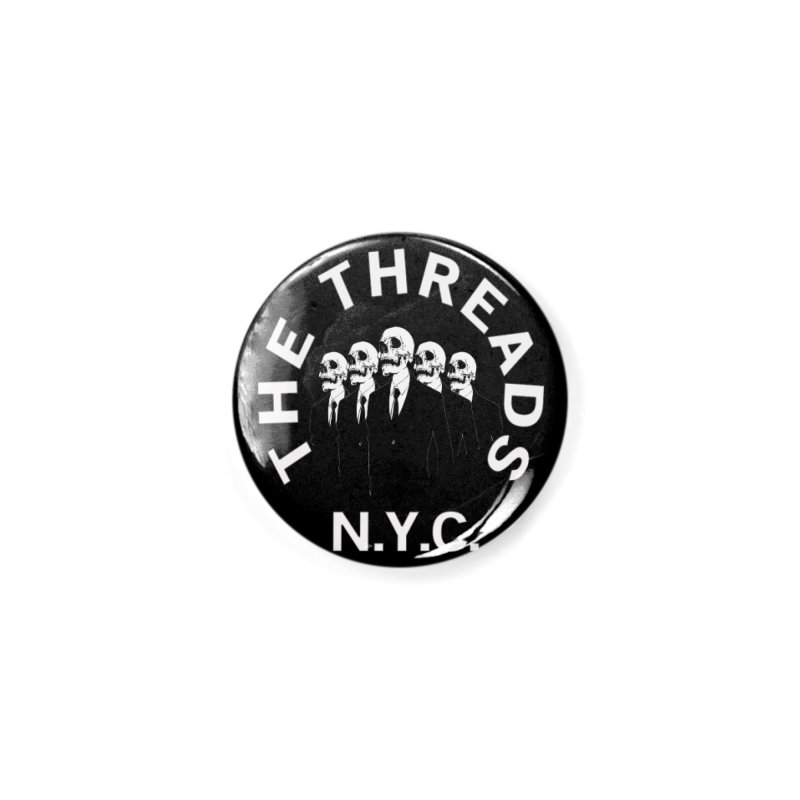 Skeleton Suits Accessories Button by THE THREADS NYC's Artist Shop