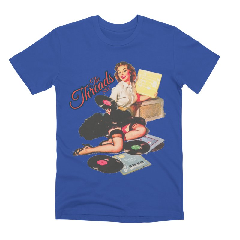 Pinup Girl Men's T-Shirt by THE THREADS NYC's Artist Shop