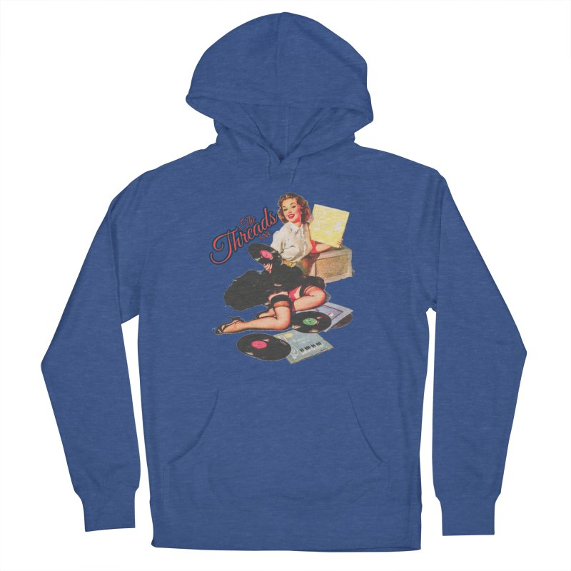 Pinup Girl Men's Pullover Hoody by THE THREADS NYC's Artist Shop