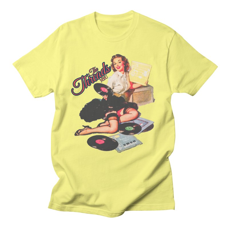 Pinup Girl Women's T-Shirt by THE THREADS NYC's Artist Shop