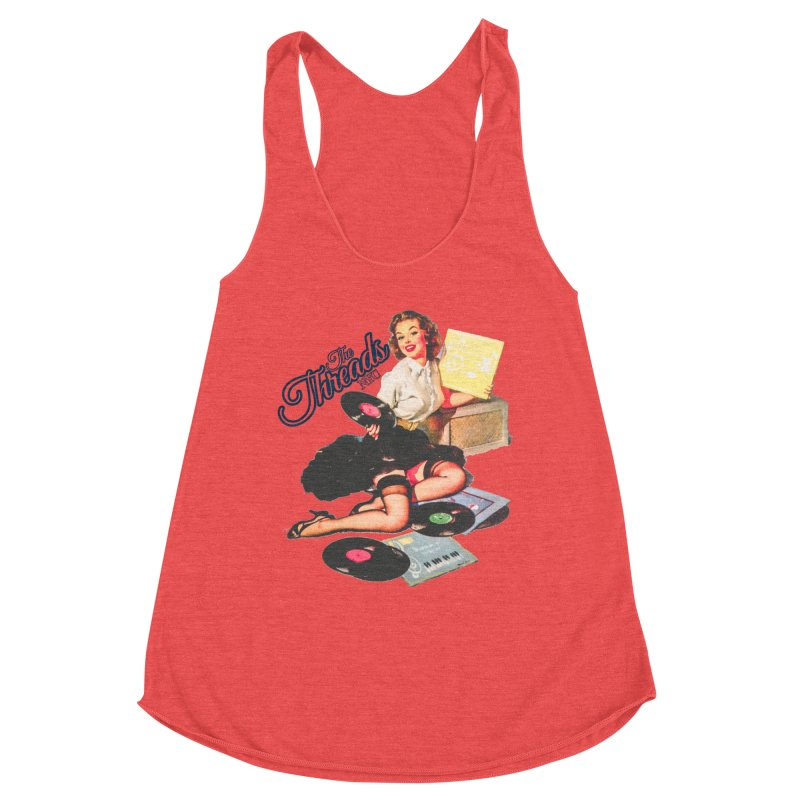 Pinup Girl Women's Tank by THE THREADS NYC's Artist Shop