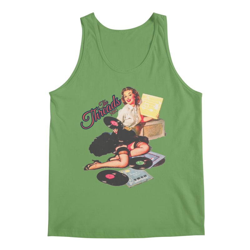 Pinup Girl Men's Tank by THE THREADS NYC's Artist Shop