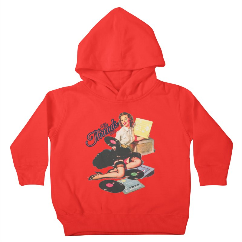 Pinup Girl Kids Toddler Pullover Hoody by THE THREADS NYC's Artist Shop