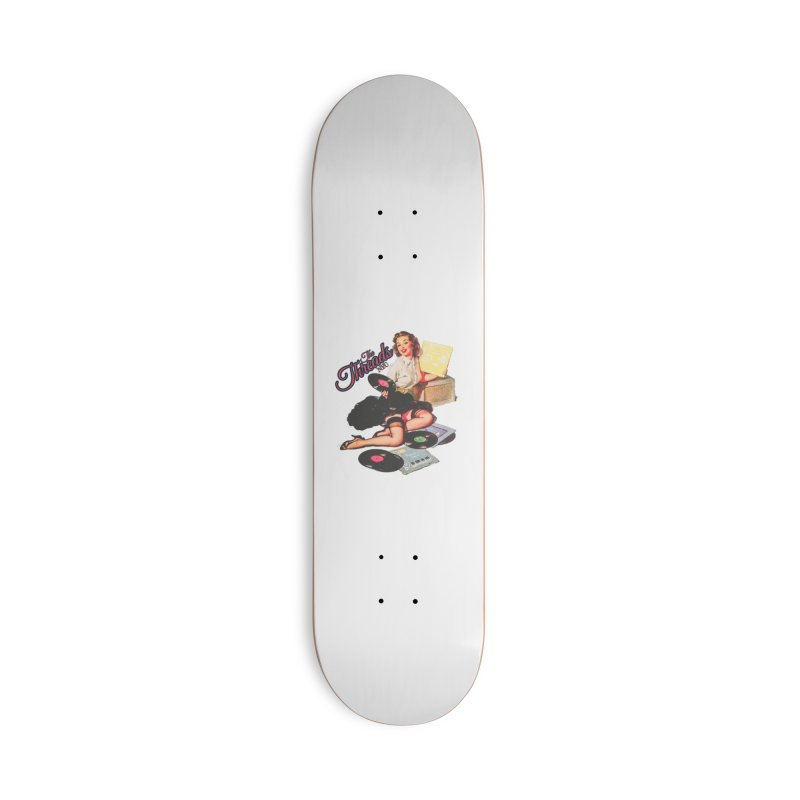 Pinup Girl Accessories Skateboard by THE THREADS NYC's Artist Shop