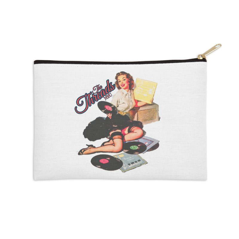 Pinup Girl Accessories Zip Pouch by THE THREADS NYC's Artist Shop