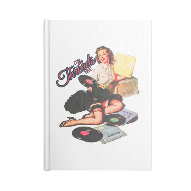 Pinup Girl Accessories Notebook by THE THREADS NYC's Artist Shop