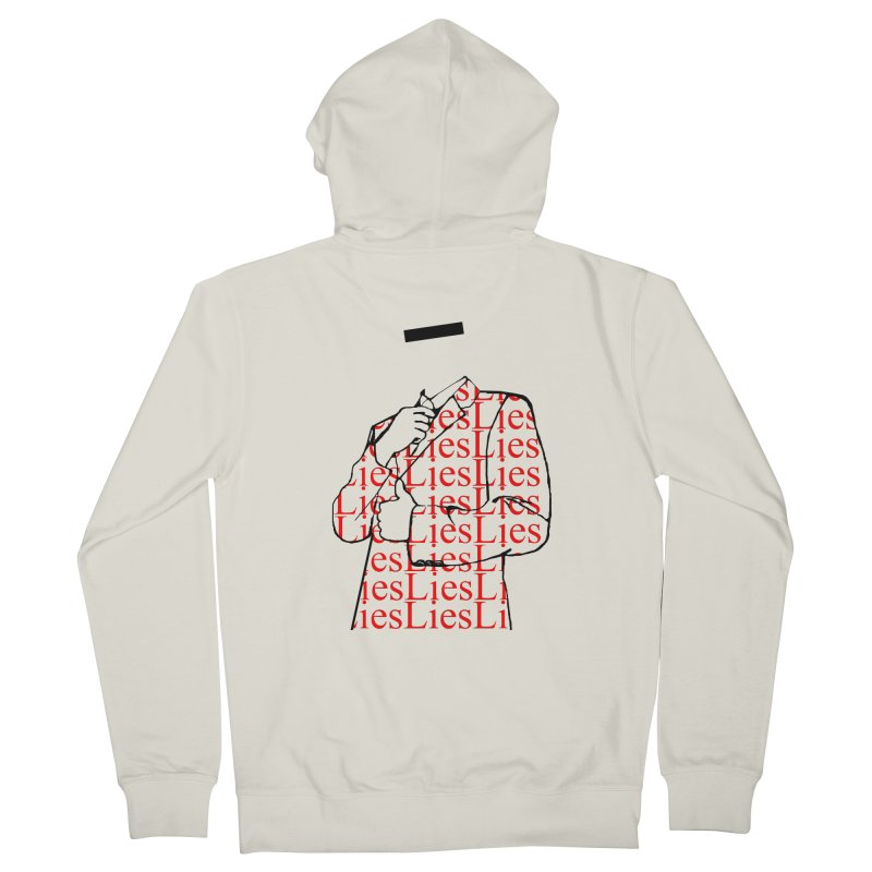 The Only Thing Stronger Than Armor Men's Zip-Up Hoody by thetimeisnow's Artist Shop