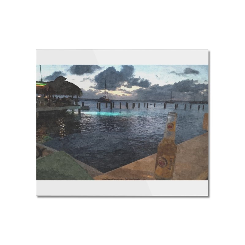 Happy Hour Home Mounted Acrylic Print by The Time Traveler's -  Artist Shop