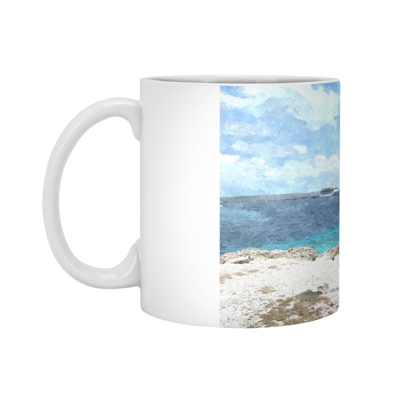 Ocean Blue Accessories Standard Mug by The Time Traveler's -  Artist Shop