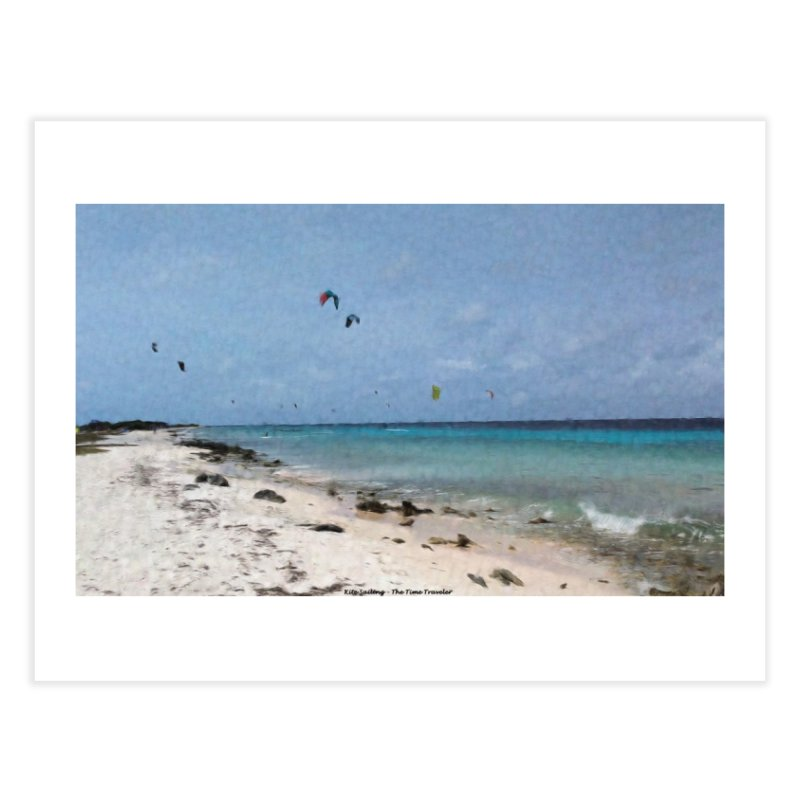 Kite Sailing Home Fine Art Print by The Time Traveler's -  Artist Shop