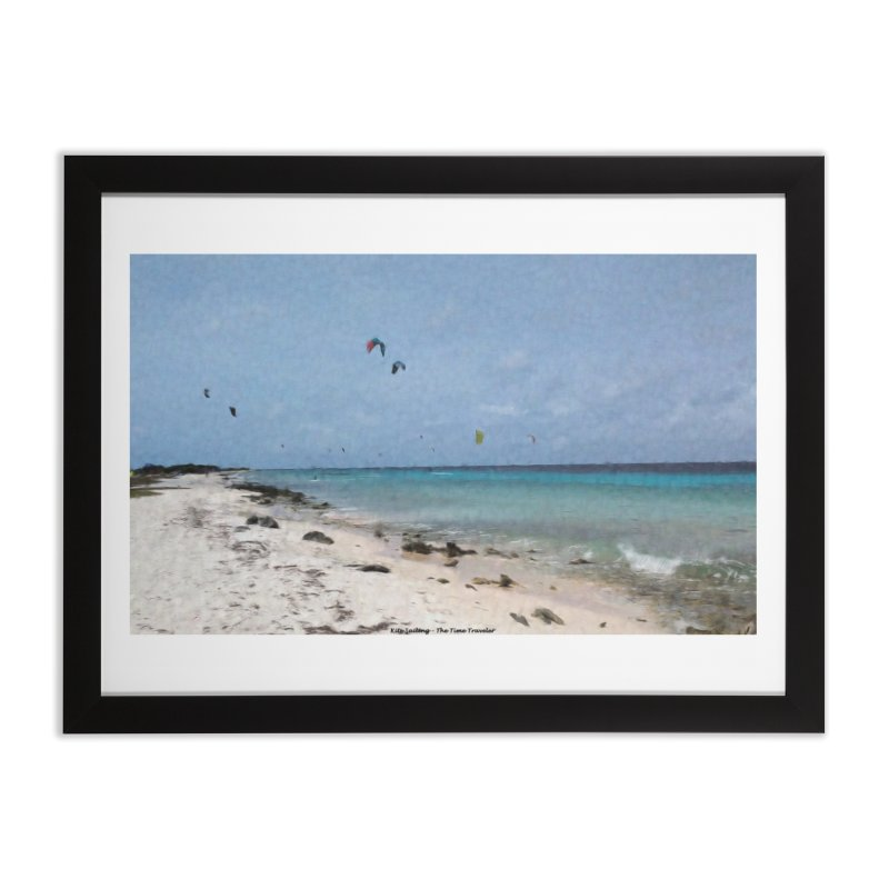 Kite Sailing Home Framed Fine Art Print by The Time Traveler's -  Artist Shop