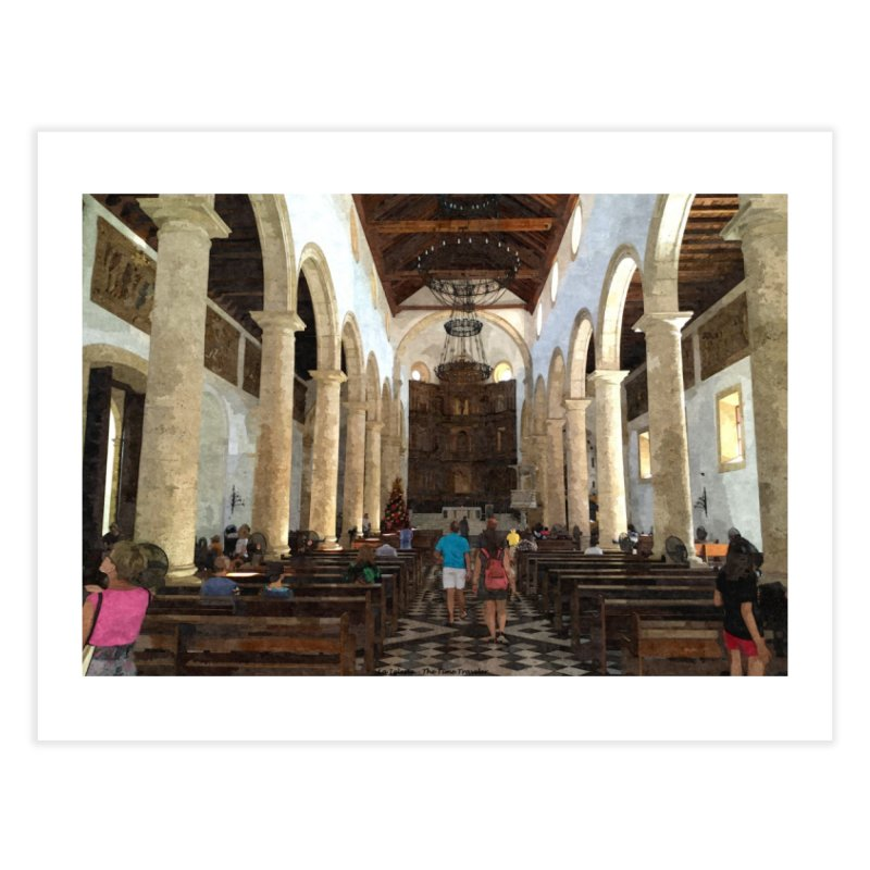 La Iglesia Home Fine Art Print by The Time Traveler's -  Artist Shop
