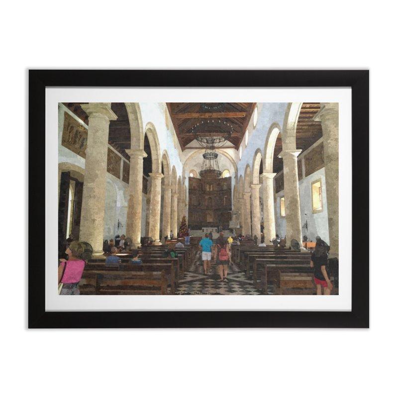 La Iglesia Home Framed Fine Art Print by The Time Traveler's -  Artist Shop