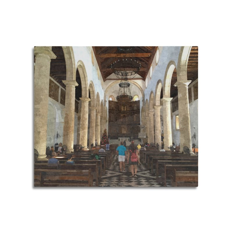 La Iglesia Home Mounted Aluminum Print by The Time Traveler's -  Artist Shop