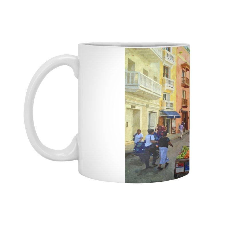 El Viejo Pueblo Accessories Standard Mug by The Time Traveler's -  Artist Shop