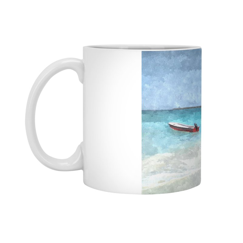 Playa Blanca Accessories Standard Mug by The Time Traveler's -  Artist Shop
