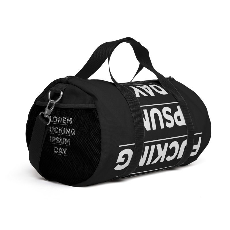 Lorem fucking ipsum day Accessories Bag by The top shit -  art shop