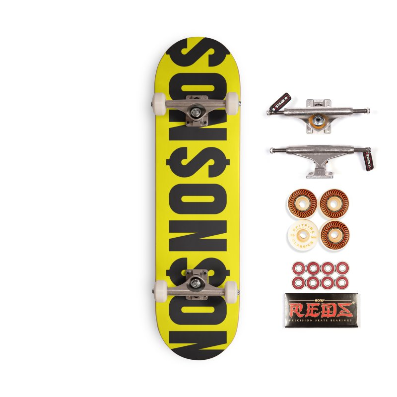 NO$ Accessories Skateboard by The top shit -  art shop