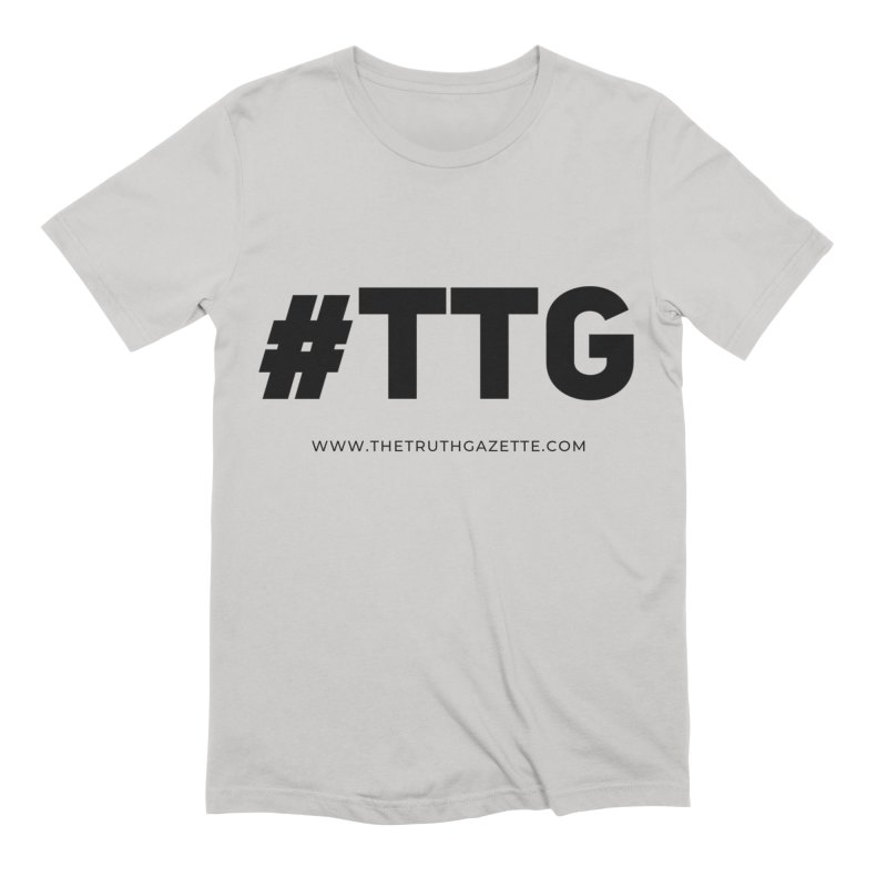 #TTG T-Shirt Men's T-Shirt by The Truth Gazette's Shop