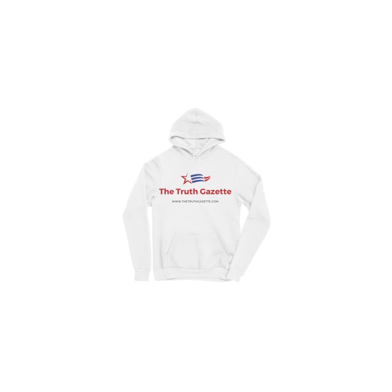 The Truth Gazette Pullover Hoodie by The Truth Gazette's Shop