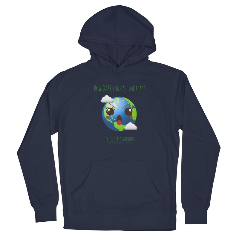Not Flat Men's Pullover Hoody by The Truth Is Somewhere
