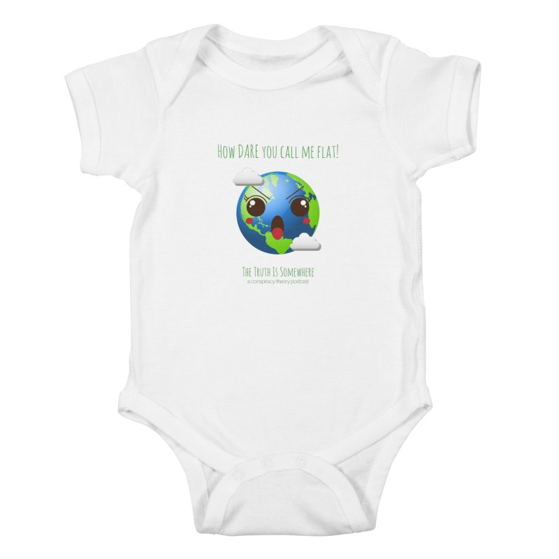 Not Flat Kids Baby Bodysuit by The Truth Is Somewhere