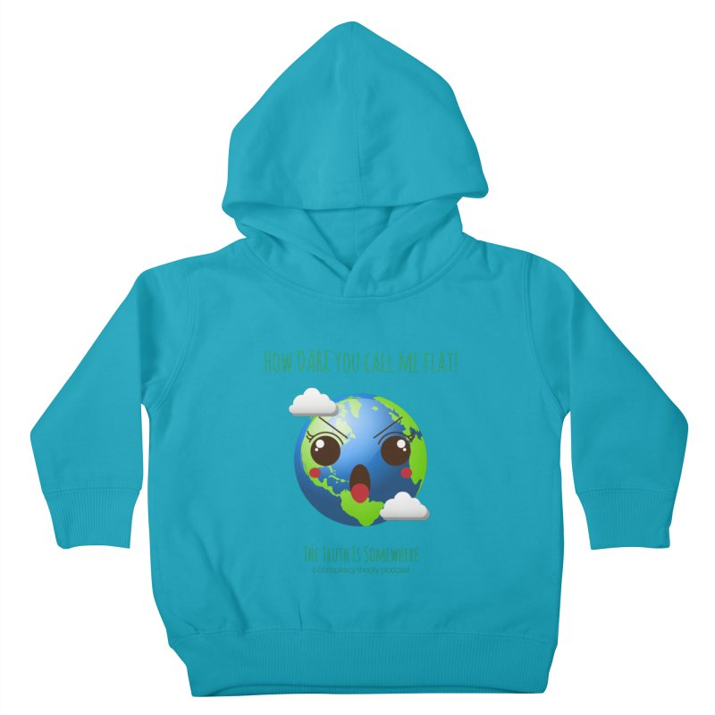 Not Flat Kids Toddler Pullover Hoody by The Truth Is Somewhere
