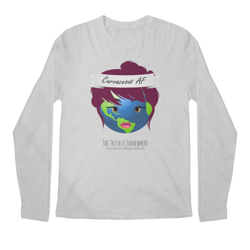 Curvaceous AF Men's Regular Longsleeve T-Shirt by The Truth Is Somewhere