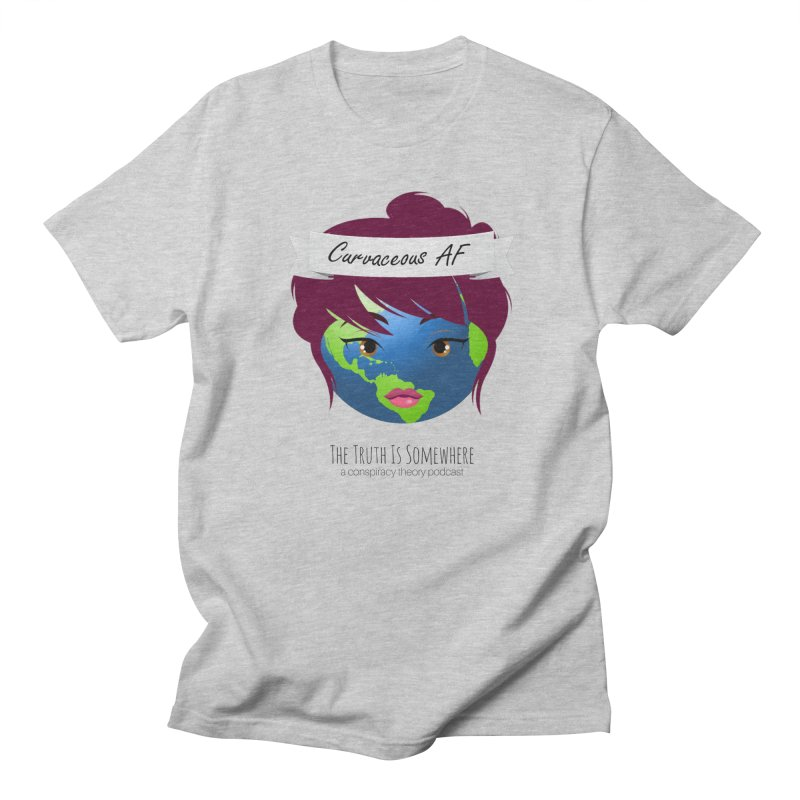 Curvaceous AF Men's Regular T-Shirt by The Truth Is Somewhere