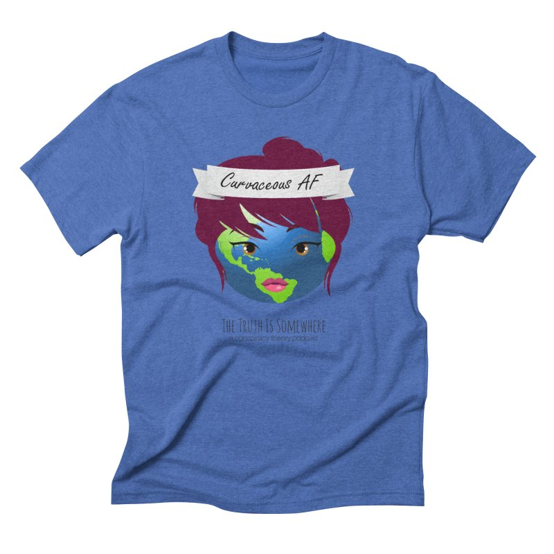 Curvaceous AF Men's Triblend T-Shirt by The Truth Is Somewhere