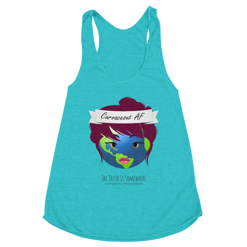 Curvaceous AF Women's Tank by The Truth Is Somewhere