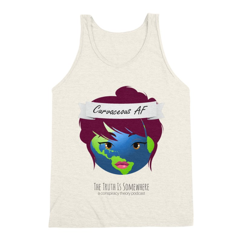 Curvaceous AF Men's Triblend Tank by The Truth Is Somewhere