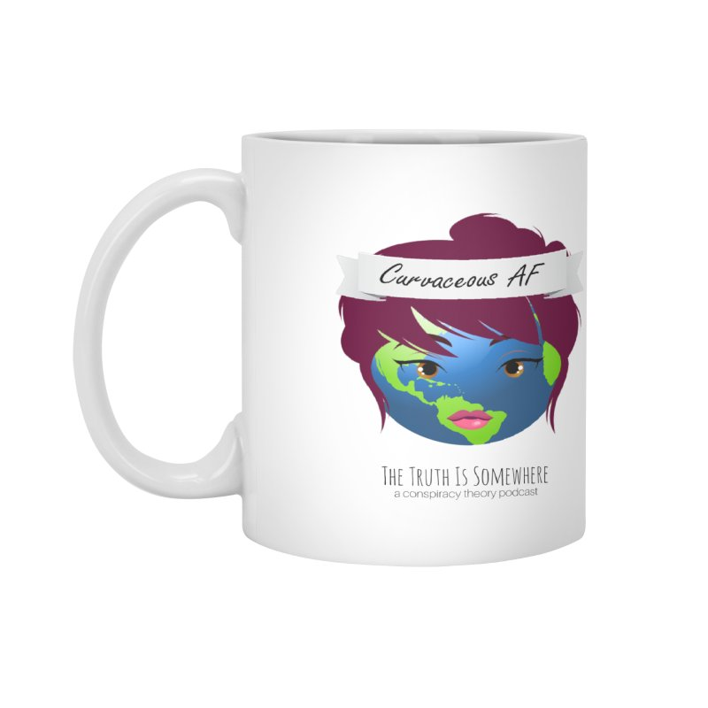 Curvaceous AF Accessories Mug by The Truth Is Somewhere