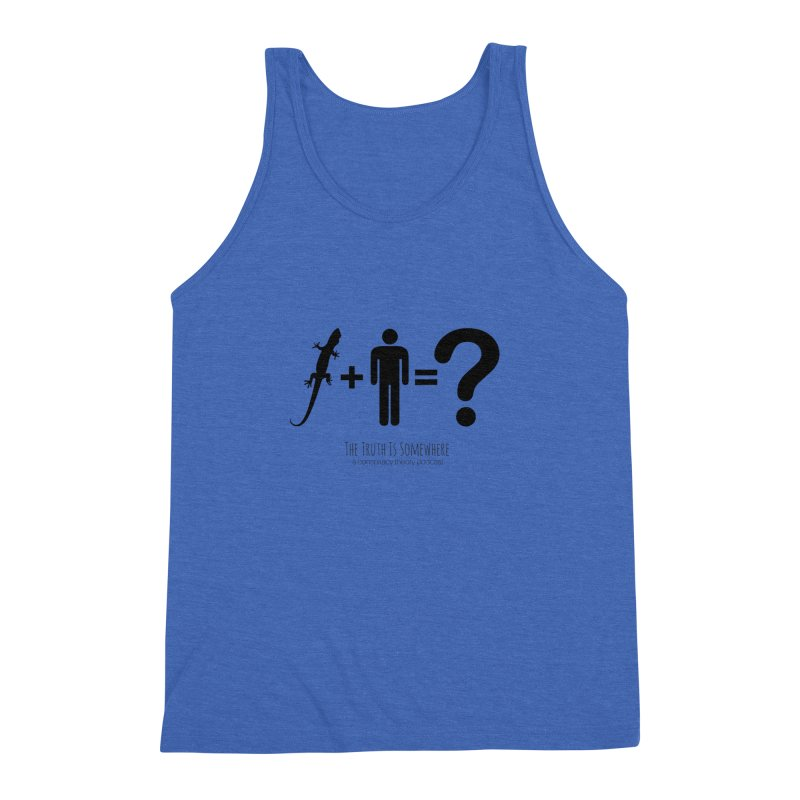 Lizard People Men's Triblend Tank by The Truth Is Somewhere