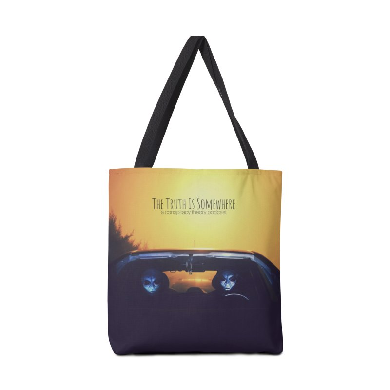 The Truth Is Somewhere Accessories Tote Bag Bag by The Truth Is Somewhere
