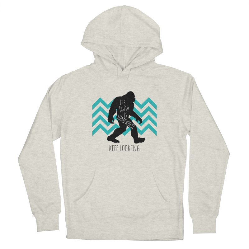 Keep Looking Men's Pullover Hoody by The Truth Is Somewhere