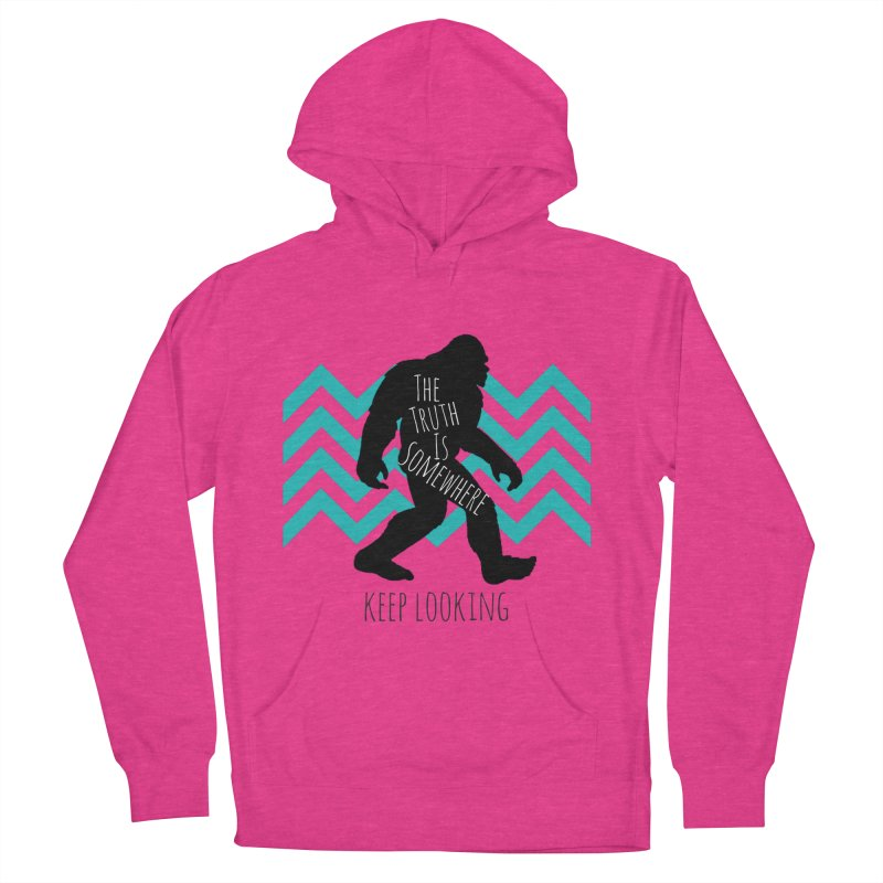 Keep Looking Women's French Terry Pullover Hoody by The Truth Is Somewhere