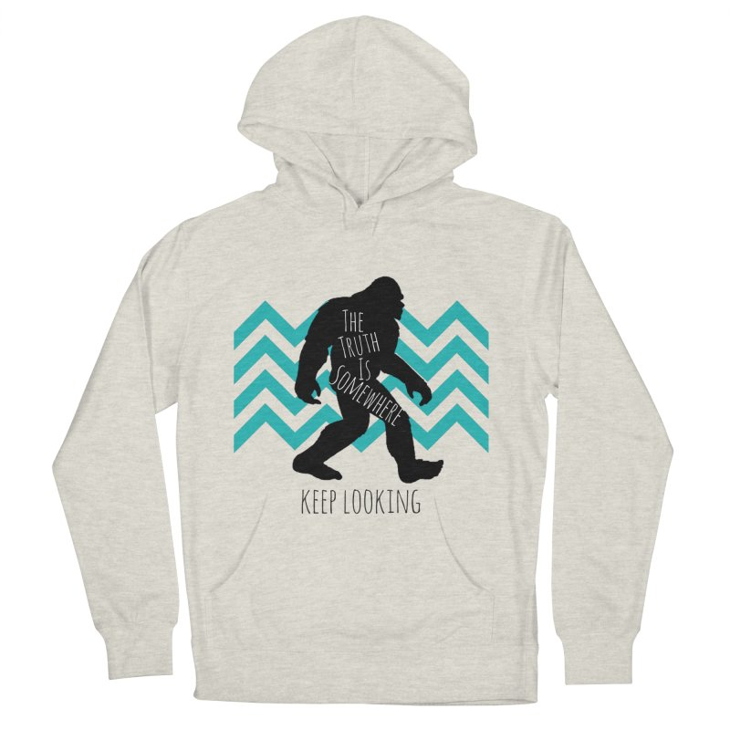 Keep Looking Men's French Terry Pullover Hoody by The Truth Is Somewhere