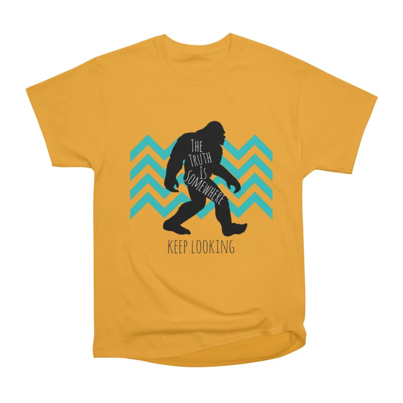 Keep Looking Women's Heavyweight Unisex T-Shirt by The Truth Is Somewhere