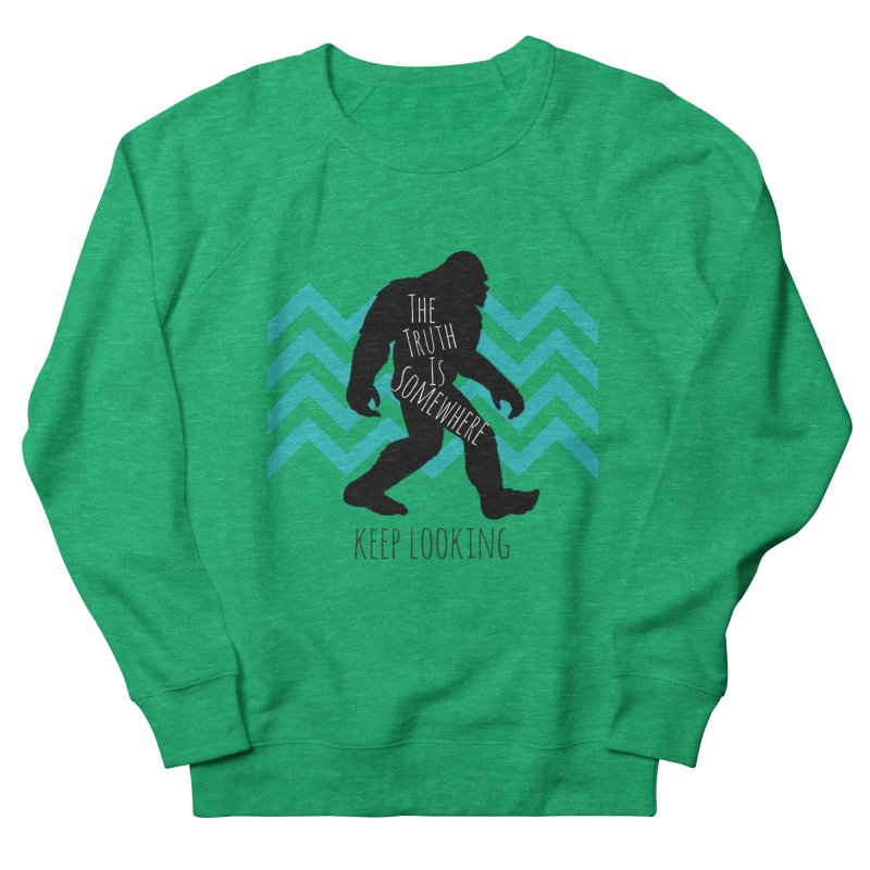 Keep Looking Men's French Terry Sweatshirt by The Truth Is Somewhere