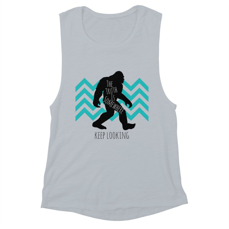 Keep Looking Women's Tank by The Truth Is Somewhere