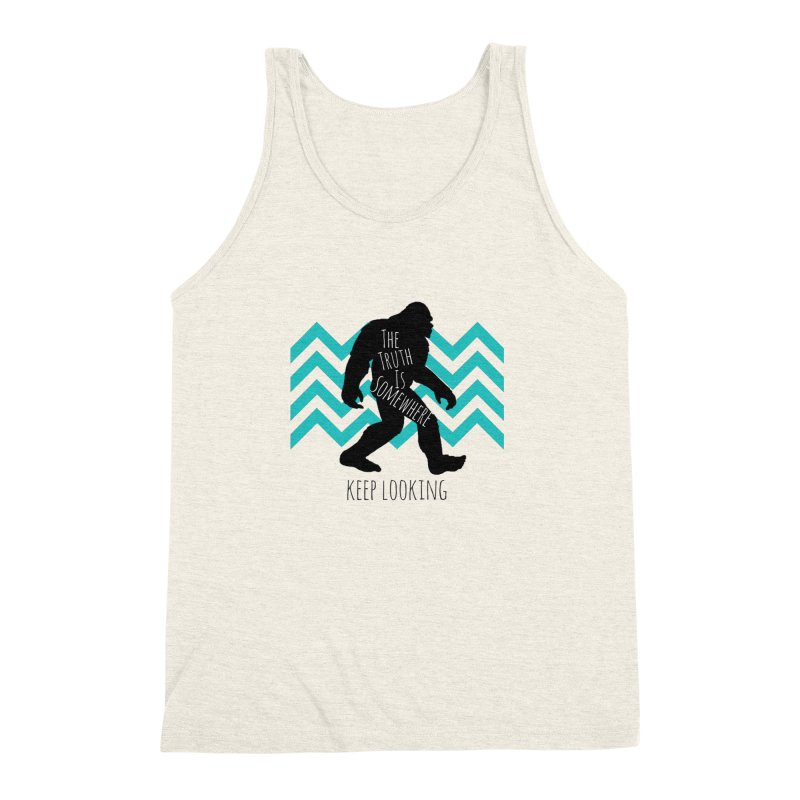 Keep Looking Men's Triblend Tank by The Truth Is Somewhere