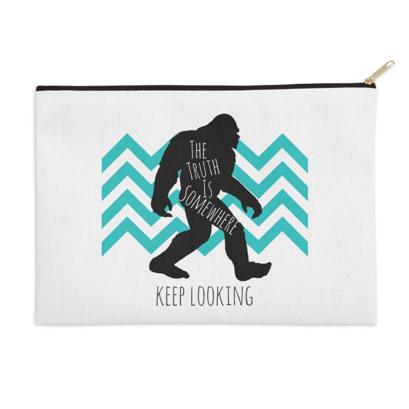 Keep Looking Accessories Zip Pouch by The Truth Is Somewhere
